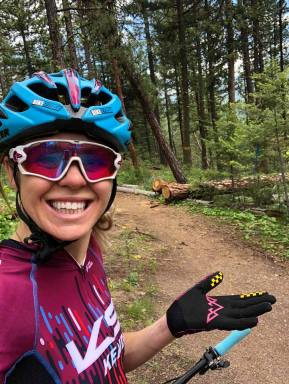 Happy on the trails!